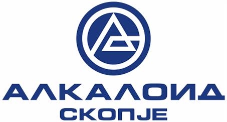 Лого на АЛКАЛОИД АД, Скопје