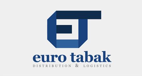 Лого на ЕУРО ТАБАК ДОО, Скопје