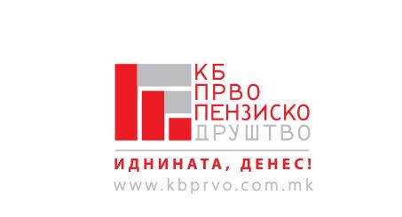 Лого на КБ Прво друштво за управување со задолжителни и доброволни пензиски фондови АД, Скопје