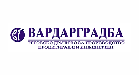 Лого на ВАРДАРГРАДБА ДОО, Скопје