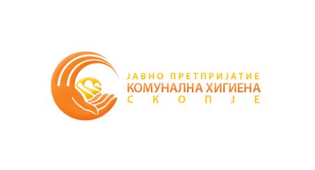 Лого на ЈП КОМУНАЛНА ХИГИЕНА - Скопје IP HIGJIENA KOMUNALE - Shkup
