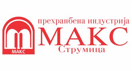 Лого на МАКС ДООЕЛ, Струмица